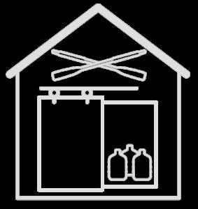 Boat House Cider Logo White